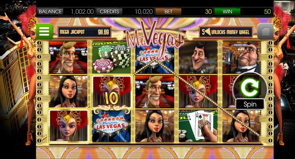 Ігровий автомат Mr. Vegas