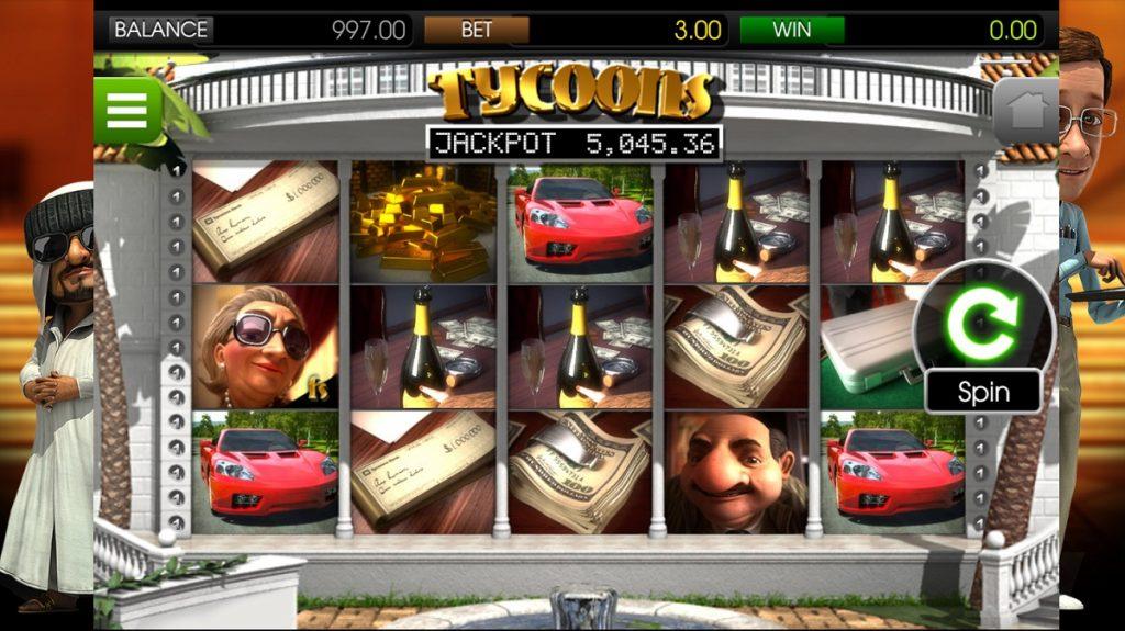 Ігровий автомат Tycoons